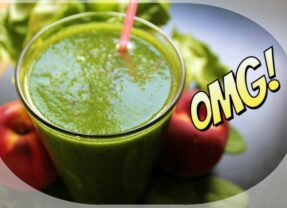 Green Avacado and Pineapple Smoothie