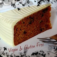 Carrot Cake Recipe (Vegan & Gluten Free)