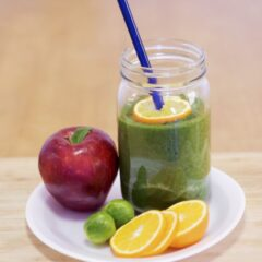 Green Crusher Fruit Salad Smoothie